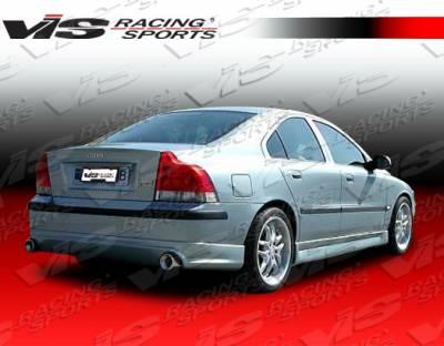 VIS Racing - Volvo S60 VIS Racing Spike Rear Lip - 01VVS604DSPK-012
