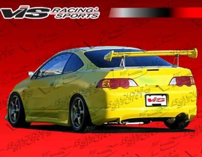 VIS Racing - Acura RSX VIS Racing JS Rear Bumper - 02ACRSX2DJS-002