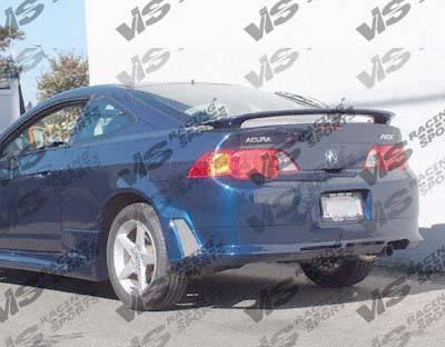 VIS Racing - Acura RSX VIS Racing Omega Rear Bumper - 02ACRSX2DOMA-002