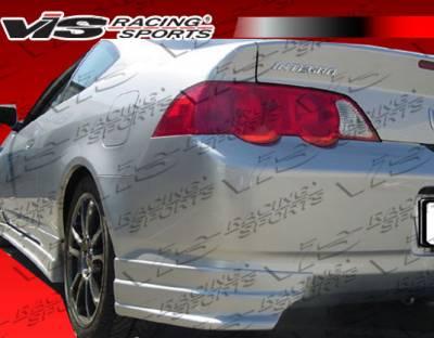 VIS Racing - Acura RSX VIS Racing Tracer-2 Rear Lip - 02ACRSX2DTRA2-012
