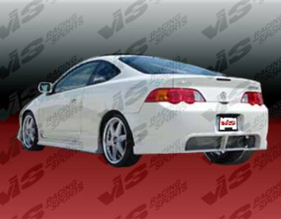 VIS Racing - Acura RSX VIS Racing TSC-2 Rear Bumper - 02ACRSX2DTSC2-002