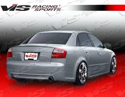 VIS Racing - Audi A4 VIS Racing J Speed Rear Lip - 02AUA44DJSP-012