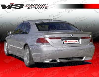 VIS Racing - BMW 7 Series VIS Racing A Tech Rear Lip - 02BME654DATH-012