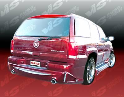 VIS Racing - Cadillac Escalade VIS Racing Outcast Rear Bumper - 02CAESC4DOC-002