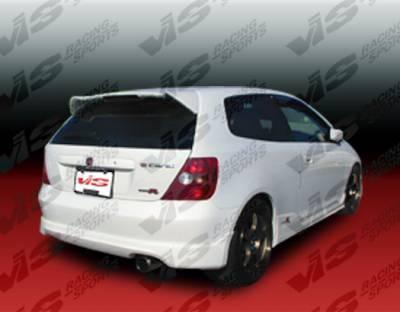 VIS Racing - Honda Civic HB VIS Racing Type R Rear Lip - 02HDCVCHBTYR-012