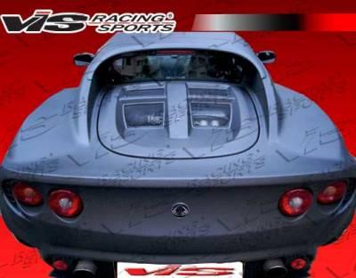 VIS Racing - Lotus Elise VIS Racing OEM Style Carbon Fiber Rear Clam Shell - 02LTELI2DOE-020C