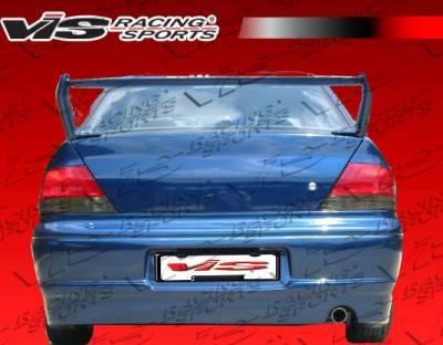 VIS Racing - Mitsubishi Lancer VIS Racing Apex Rear Bumper - 02MTLAN4DAPX-002