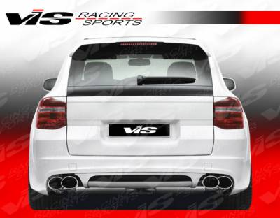 VIS Racing - Porsche Cayenne VIS Racing A Tech Rear Bumper - 02PSCAY4DATH-002