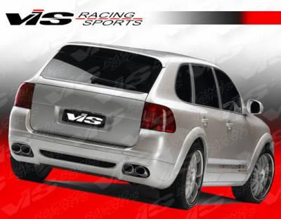 VIS Racing - Porsche Cayenne VIS Racing G Tech Rear Lip - 02PSCAY4DGTH-012