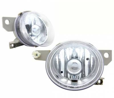 4 Car Option - Honda Del Sol 4 Car Option Fog Light Kit - Clear - LHF-HD93C