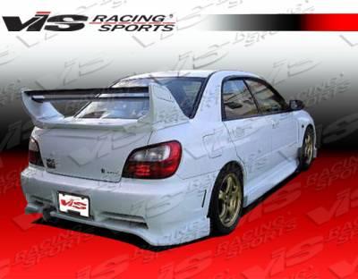 VIS Racing - Subaru WRX VIS Racing Alfa Rear Bumper - 02SBWRX4DALF-002