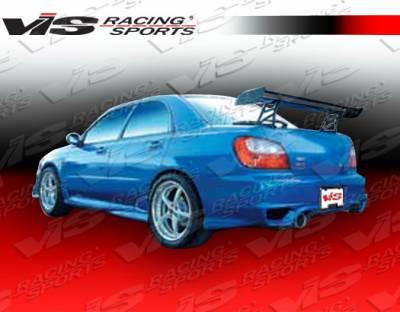 VIS Racing - Subaru WRX VIS Racing Zyclone-2 Rear Bumper - 02SBWRX4DZYC2-002