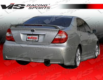 VIS Racing - Toyota Camry VIS Racing TSP Rear Bumper - 02TYCAM4DTSP-002
