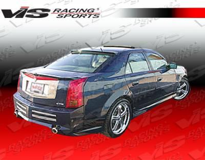 VIS Racing - Cadillac CTS VIS Racing VIP Rear Bumper - 03CACTS4DVIP-002