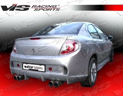 VIS Racing - Dodge Neon 4DR VIS Racing Invader Rear Bumper - 03DGNEO4DINV-002