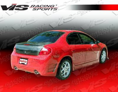 VIS Racing - Dodge Neon 4DR VIS Racing TSC-3 Rear Bumper - 03DGNEO4DTSC3-002