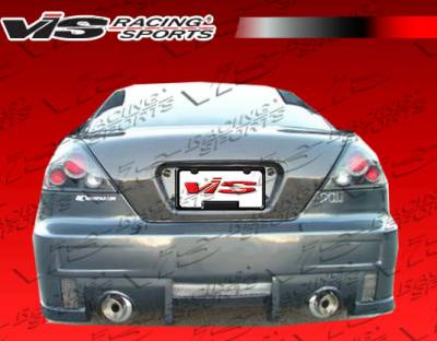 VIS Racing - Honda Accord 2DR VIS Racing EVO-4 Rear Bumper - 03HDACC2DEVO4-002