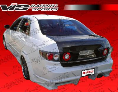VIS Racing - Honda Accord 4DR VIS Racing Ballistix Rear Bumper - 03HDACC4DBX-002