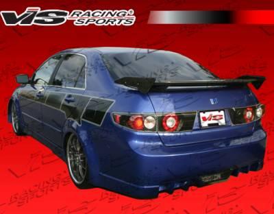 VIS Racing - Honda Accord 4DR VIS Racing EVO5 Rear Bumper - 03HDACC4DEVO5-002