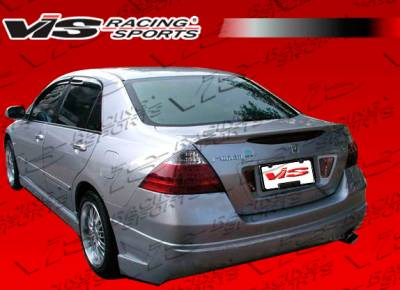 VIS Racing - Honda Accord 4DR VIS Racing VIP Rear Bumper - 03HDACC4DVIP-002