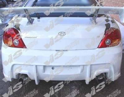 VIS Racing - Hyundai Tiburon VIS Racing GT Sport Rear Bumper - 03HYTIB2DGTS-002