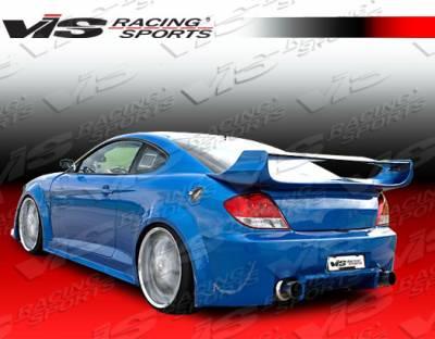 VIS Racing - Hyundai Tiburon VIS Racing GT Widebody Rear Bumper - 03HYTIB2DGTWB-002