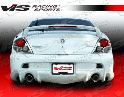VIS Racing - Hyundai Tiburon VIS Racing Invader Rear Bumper - 03HYTIB2DINV-002