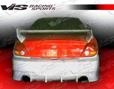 VIS Racing - Hyundai Tiburon VIS Racing Wings Rear Bumper - 03HYTIB2DWIN-002