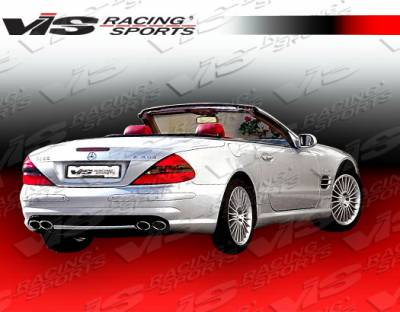 VIS Racing - Mercedes-Benz SL VIS Racing Euro Tech Rear Bumper - 03MER2302DET-002