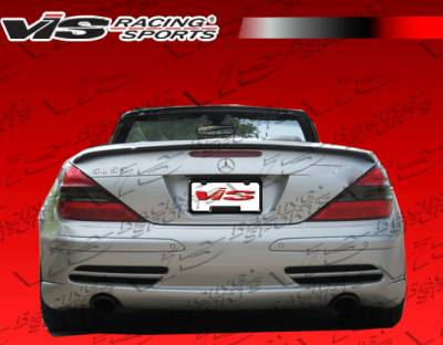 VIS Racing - Mercedes-Benz SL VIS Racing Laser Rear Bumper - 03MER2302DLS-002