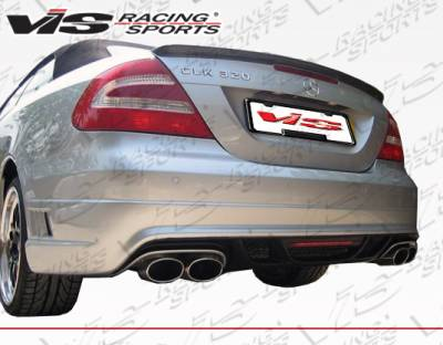 VIS Racing - Mercedes-Benz CLK VIS Racing VIP Rear Bumper - 03MEW2092DVIP002