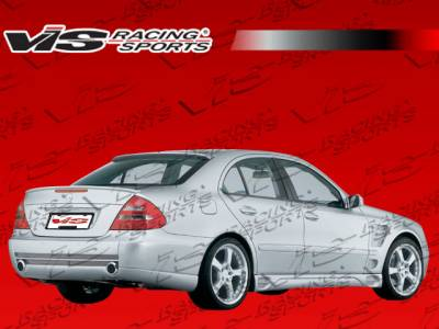 VIS Racing - Mercedes-Benz E Class VIS Racing Laser F1 Rear Bumper - 03MEW2114DLF1-002