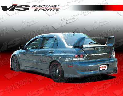 VIS Racing - Mitsubishi Lancer VIS Racing OEM Style Rear Bumper - 03MTEV84DOE-002