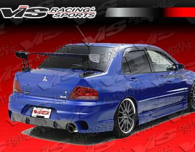 VIS Racing - Mitsubishi Evolution 8 VIS Racing Wings Rear Bumper - 03MTEV84DWIN-002
