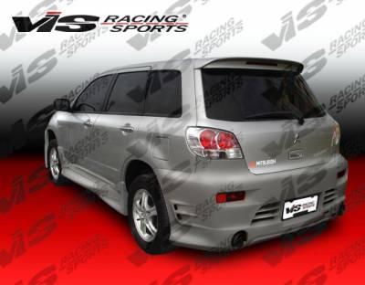 VIS Racing - Mitsubishi Outlander VIS Racing K Speed Rear Bumper - 03MTOUT4DKSP-002