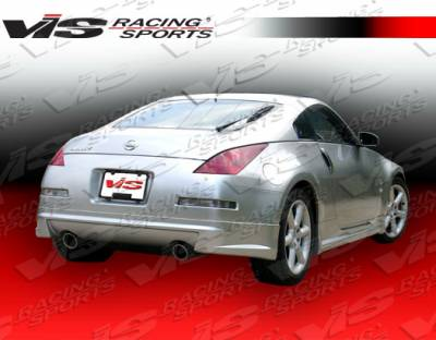 VIS Racing - Nissan 350Z VIS Racing AMS Rear Lip - 03NS3502DAMS-012