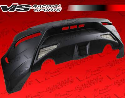 VIS Racing - Nissan 350Z VIS Racing AMS GT Rear Bumper - 03NS3502DAMSGT-002