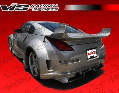 VIS Racing - Nissan 350Z VIS Racing Invader-3 Rear Bumper - 03NS3502DINV3-002