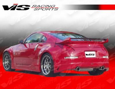 VIS Racing - Nissan 350Z VIS Racing J Speed Rear Lip - 03NS3502DJSP-012