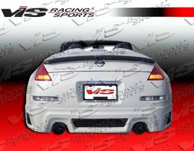 VIS Racing - Nissan 350Z VIS Racing R-35 Rear Bumper - 03NS3502DR35-002