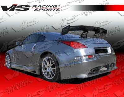 VIS Racing - Nissan 350Z VIS Racing Ravage Rear Bumper - 03NS3502DRAV-002