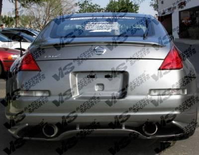VIS Racing - Nissan 350Z VIS Racing Spike Rear Lip - 03NS3502DSPK-012