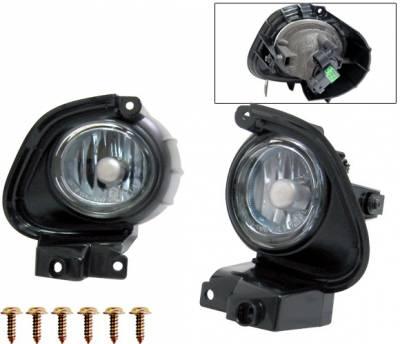 4 Car Option - Mazda RX-8 4 Car Option Fog Light Kit - Blue - LHF-MRX8-BL