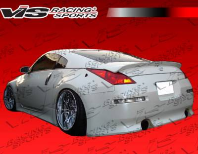 VIS Racing - Nissan 350Z VIS Racing V Speed Rear Bumper - 03NS3502DVSP-002