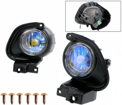 4 Car Option - Mazda RX-8 4 Car Option Fog Light Kit - Ion - LHF-MRX8-ION