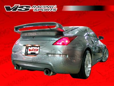 VIS Racing - Nissan 350Z VIS Racing Wings Rear Bumper - Polyurethane - 03NS3502DWIN-002P