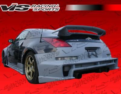 VIS Racing. - Nissan 350Z VIS Racing Z34 Conversion Rear Bumper - 03NS3502DZ34-002