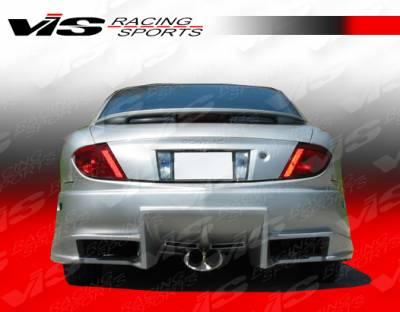 VIS Racing - Pontiac Sunfire VIS Racing Ballistix Rear Bumper - 03PTSUN2DBX-002