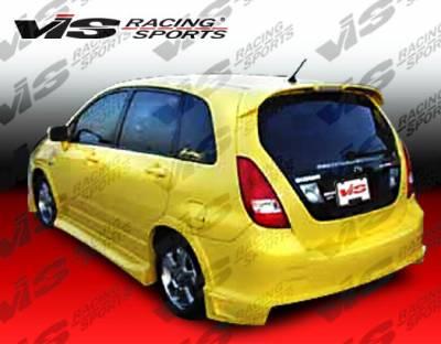 VIS Racing - Suzuki Aerio VIS Racing Striker Rear Bumper - 03SZAER4DSTR-002