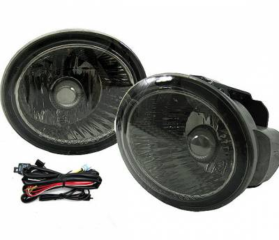 4 Car Option - Nissan Altima 4 Car Option Fog Light Kit - Smoke - LHF-NA02SM